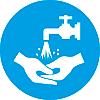Предписывающий знак Мыть руки